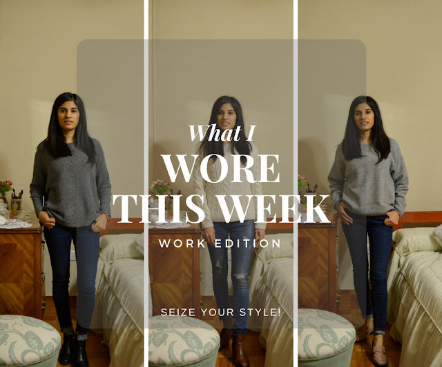 What I wore this week: Work Edition