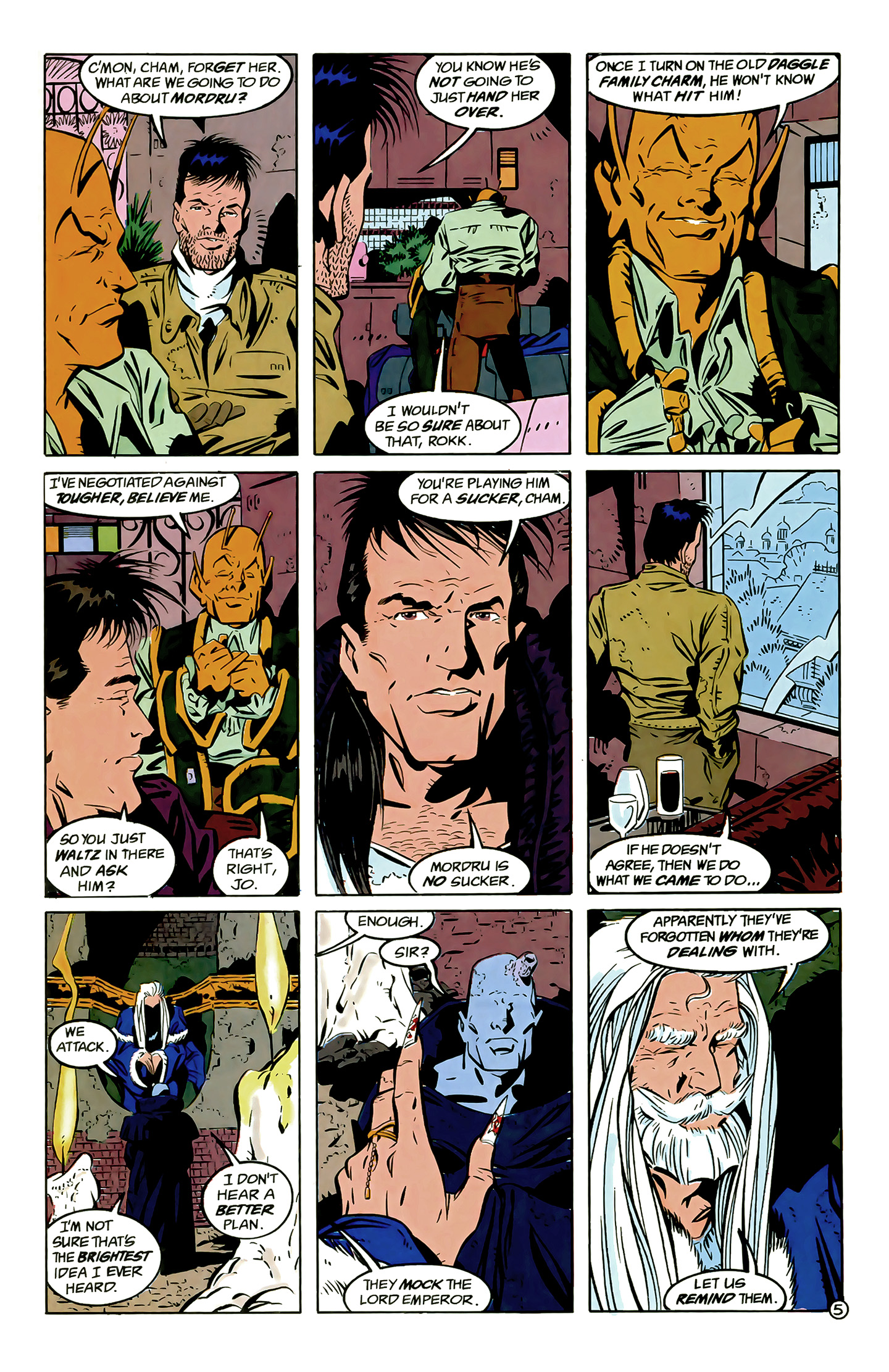 Legion of Super-Heroes (1989) 6 Page 5