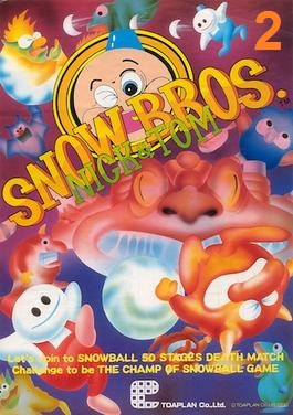 SNOW BROS 2 Cover Photo