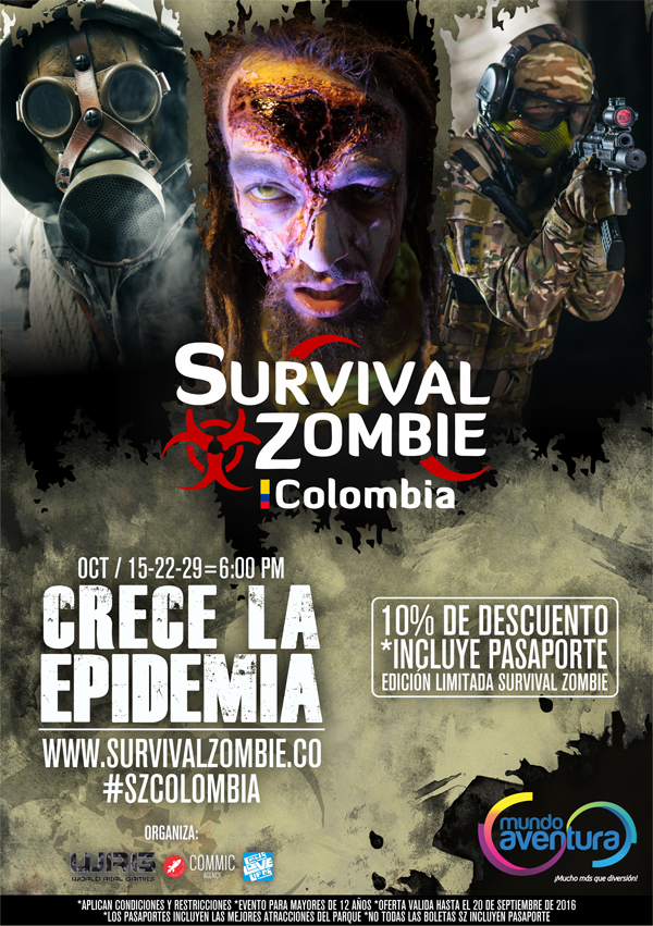 Colombia-Survival-Zombie