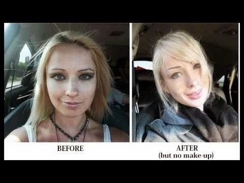 Valeria Lukyanova original face | before after picture ...