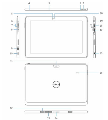Features of Dell Venue 10 Pro 5056
