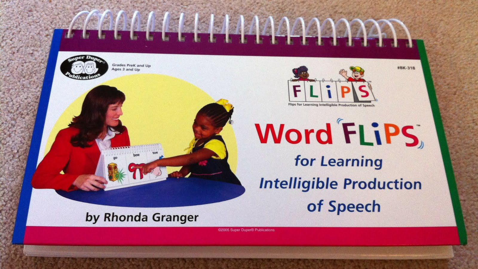 Therapy Materials Review: Word Flips - Flips for Learning Intelligible  Production of Speech