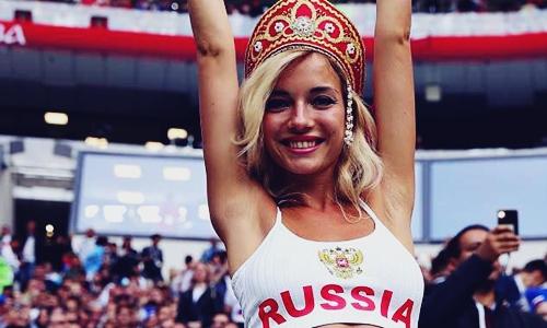 Biodata Natalya Nemchinova, Suporter Wanita Tercantik di Piala Dunia 2018 Rusia