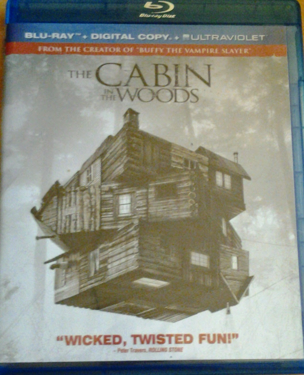 DVD Cover - Cabin in the Woods