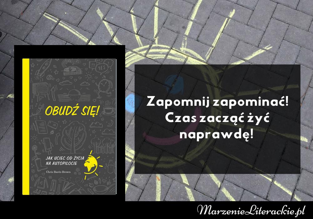 Chris Barez-Brown, Obudź się! Jak uciec od życia na autopilocie, Recenzja, Marzenie Literackie