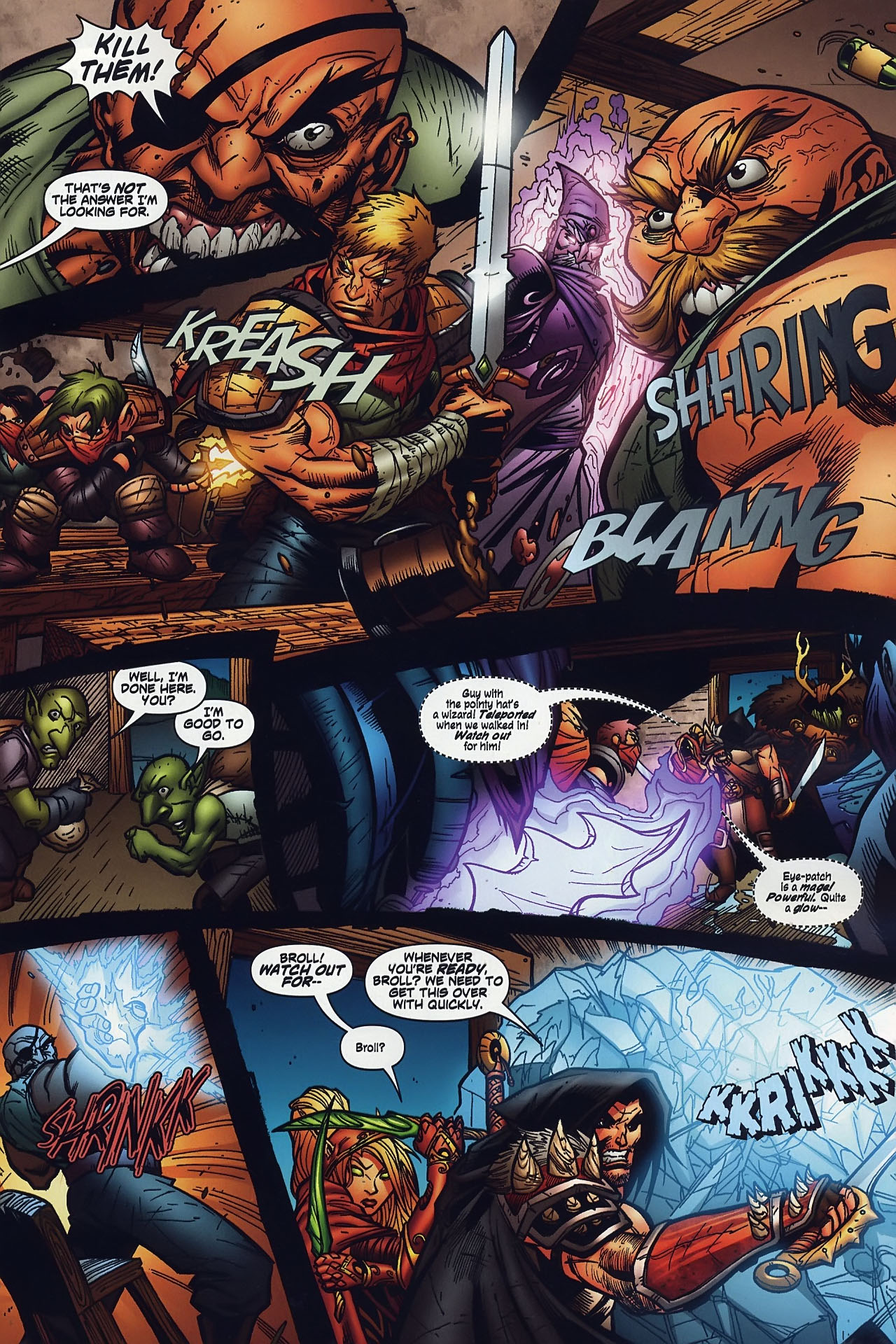 Read online World of Warcraft comic -  Issue #8 - 12