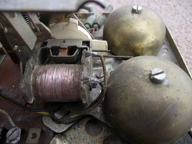 Telefone de disco - Campainha eletromecânica