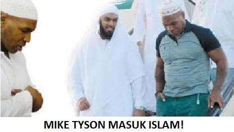 5 Alasan Mike Tyson Masuk islam, Berawal Dari Penjara Tahun 1992-1995