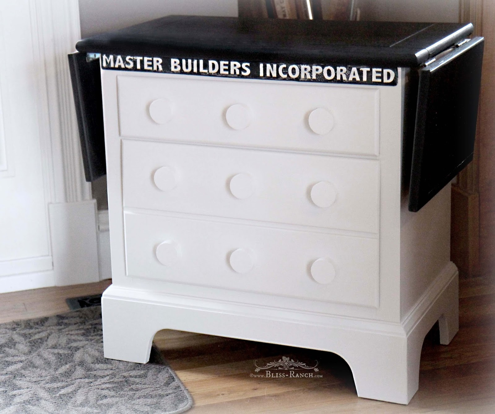 Lego Building Table from nightstand Bliss-Ranch.com