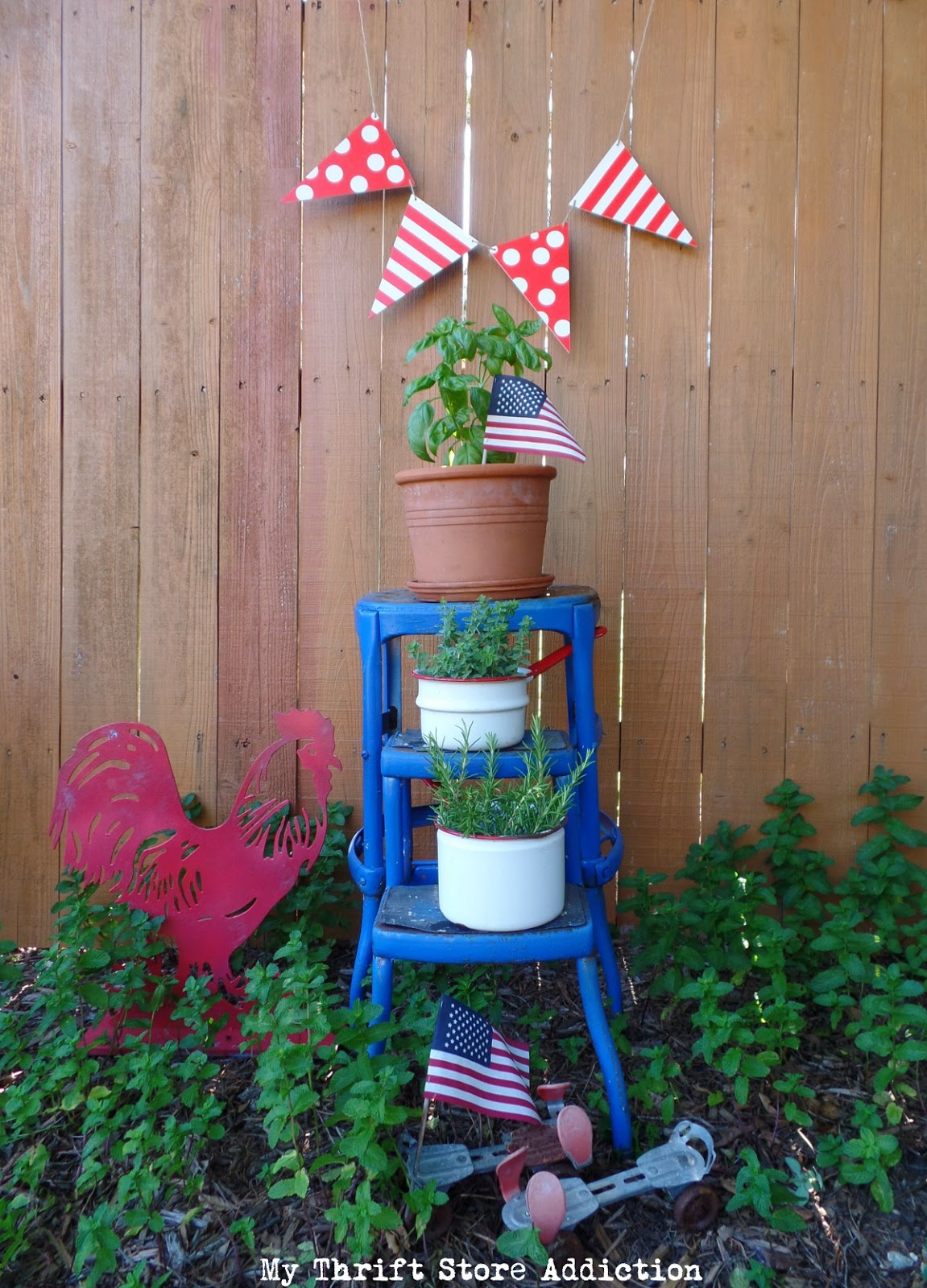 Patriotic Porches Tour and lavender lemonade recipe