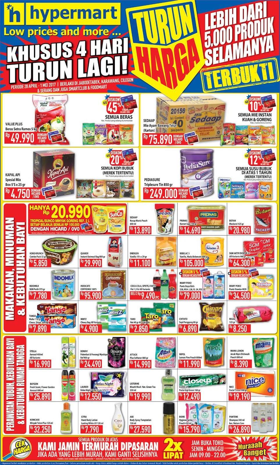 14 New Download Promo Hypermart 2 Mei 2019 Free Voucher Belanja Koran 2017 April 30 28