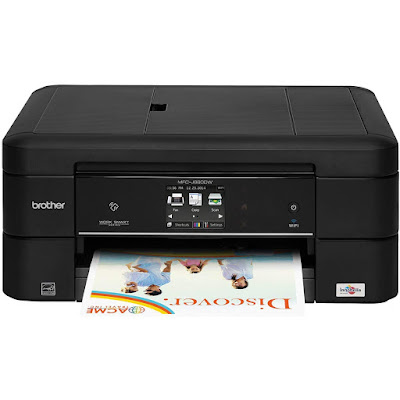 Convenient wireless mobile device printing via air impress Brother Printer MFC-J885DW Driver Downloads