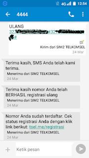 Cara Registrasi Kartu Telkomsel Tanpa NIK dan KK Terbaru 2018