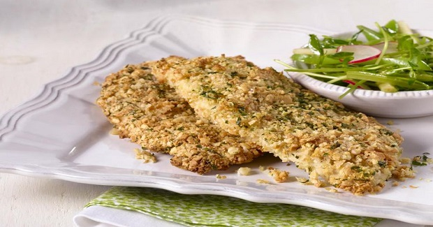 Oven-Baked Breaded Chicken Breasts Recipe