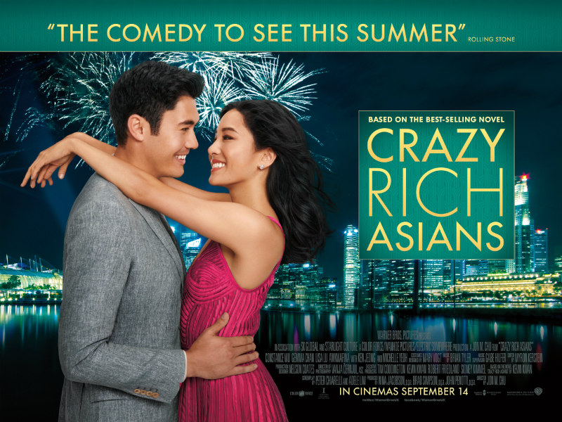crazy rich asians uk poster