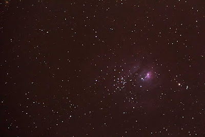 M8, The Lagoon Nebula taken at Black Star Canyon