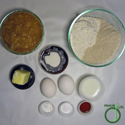 Morsels of Life - Nana's Banana Bread Step 1 - Gather all materials.