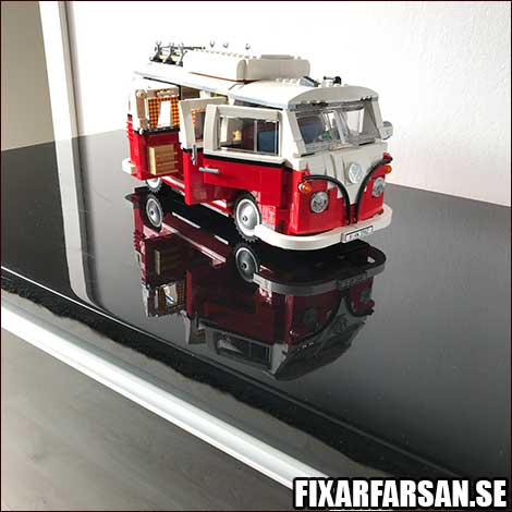 LEGO VW Buss prydnad vardagsrum