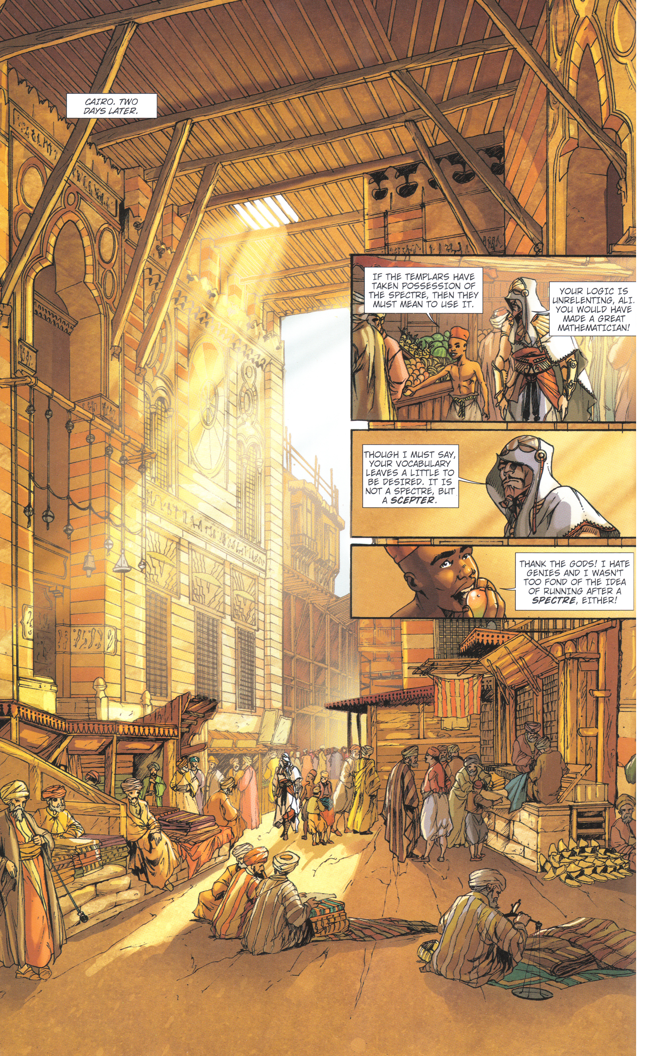 Read online Assassin's Creed (2012) comic -  Issue #4 - 32