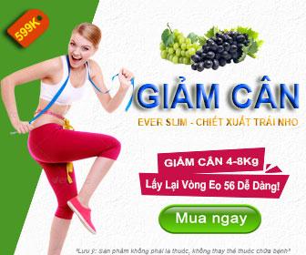 Viên giảm cân ever slim - giảm cân an toàn hiệu quả