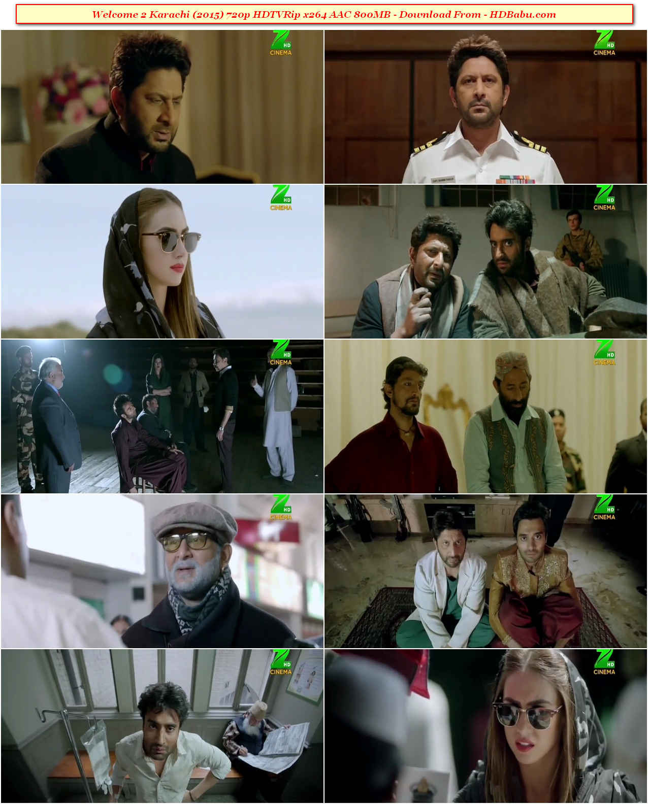 Welcome 2 Karachi Full Movie Download