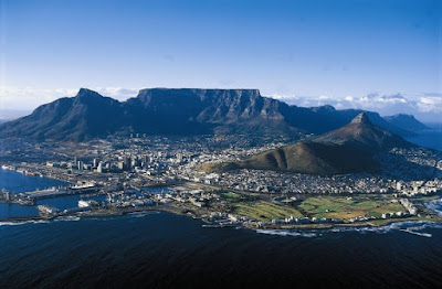 Table Mountain  -  Afrika Selatan