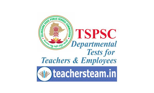 TSPSC Departmental Test
