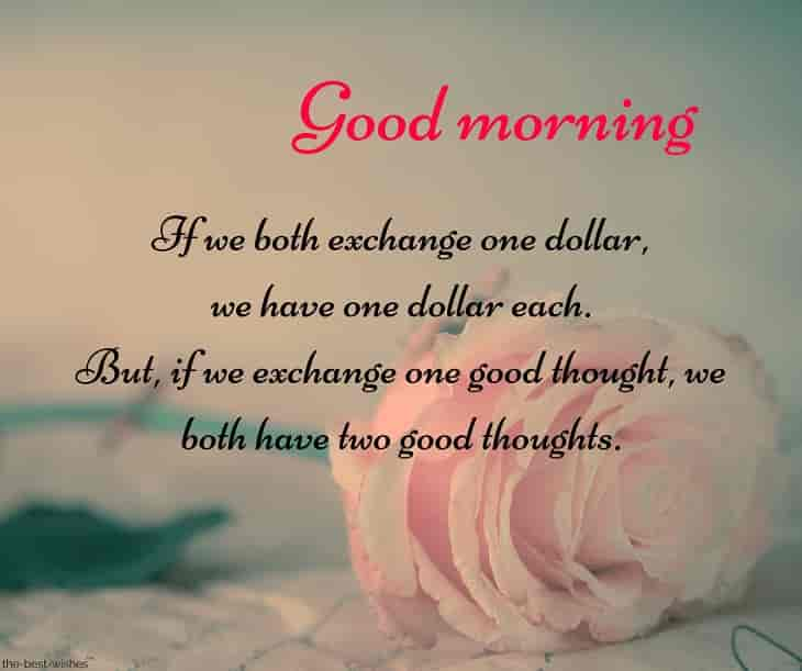 smart good morning sms