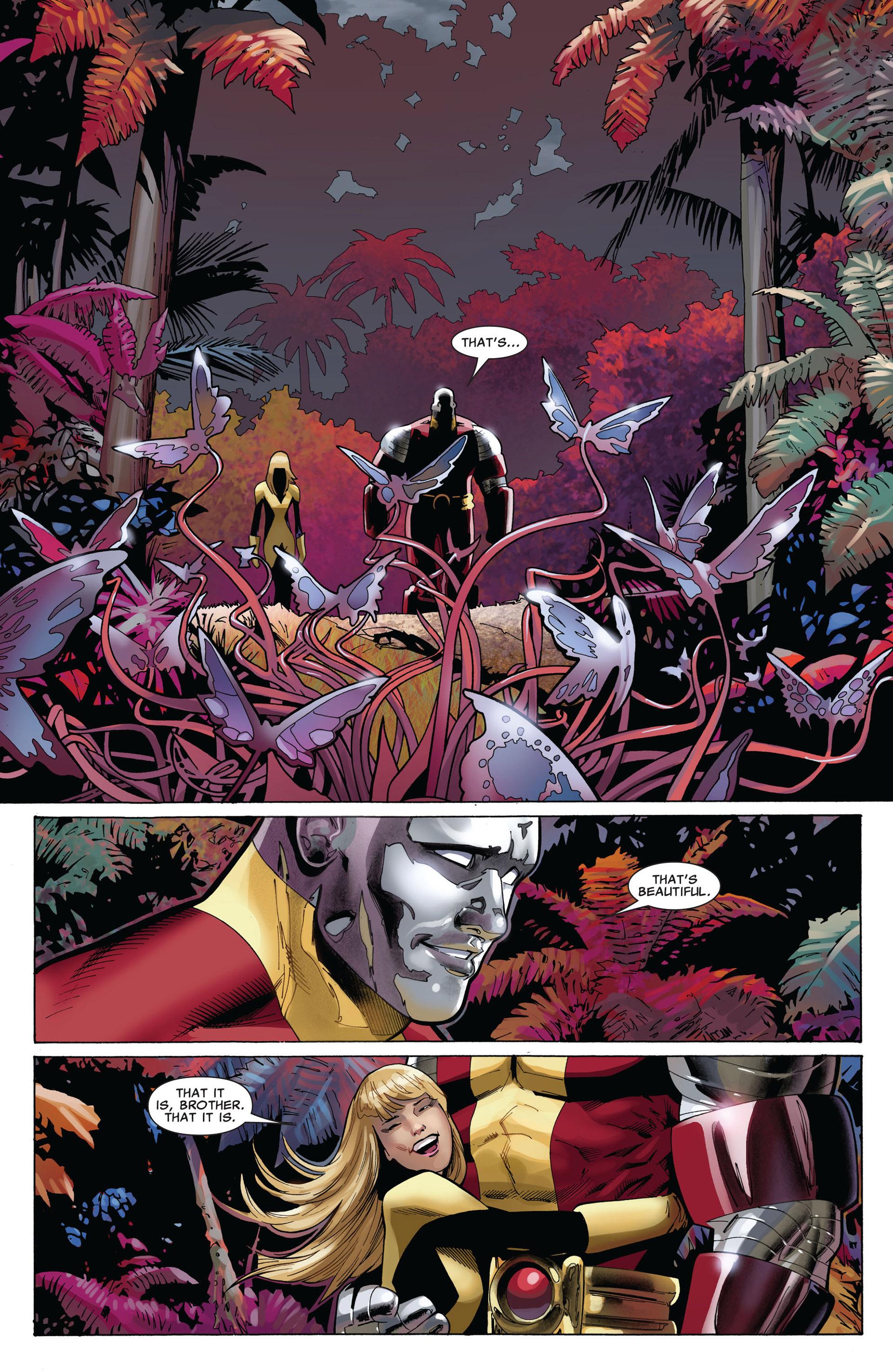 Read online Uncanny X-Men (2012) comic -  Issue #5 - 14
