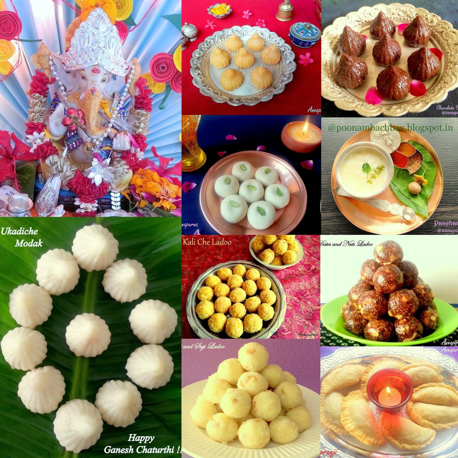 Annapurna: 101 Ganesh Chaturthi Recipes