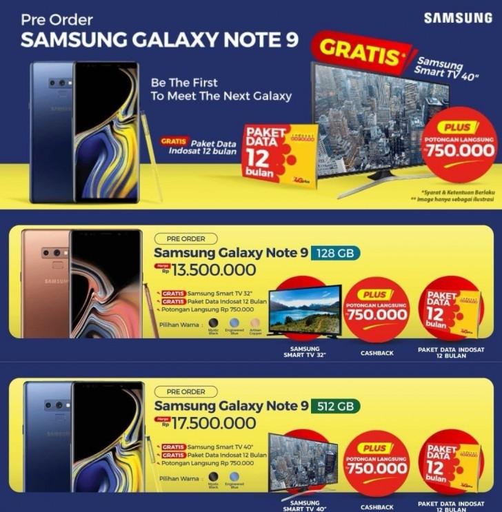 Muncul Harga Samsung Galaxy Note 9 untuk Indonesia Tech news Android