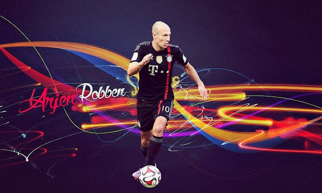 Arjen Robben new 2015 Wallpaper