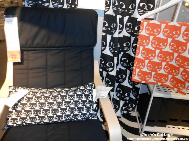 Cat fabric in Ikea