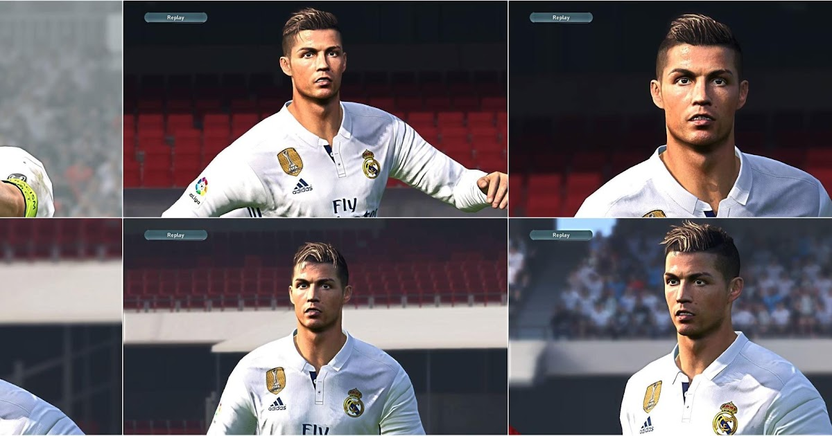 PES 2017 CR7 Hair Pack Update by LR7 Face 5a09b9266