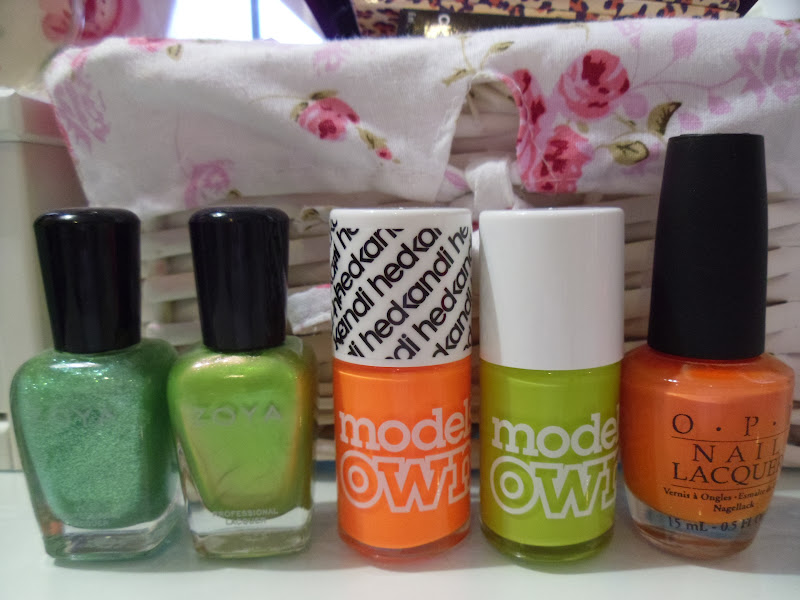 My Favourite Nail Polishes For Summer