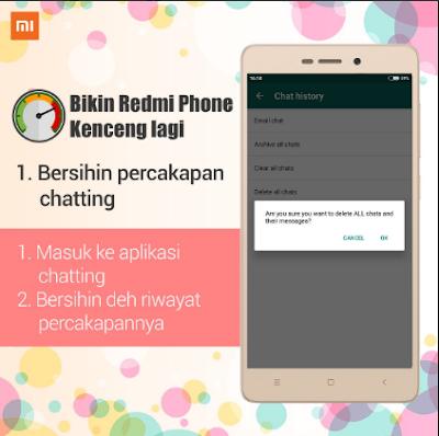 4 Cara Mempercepat Ponsel Xiaomi Redmi