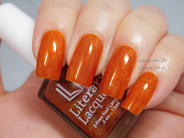 Literary Lacquers More Like Fire Than Light