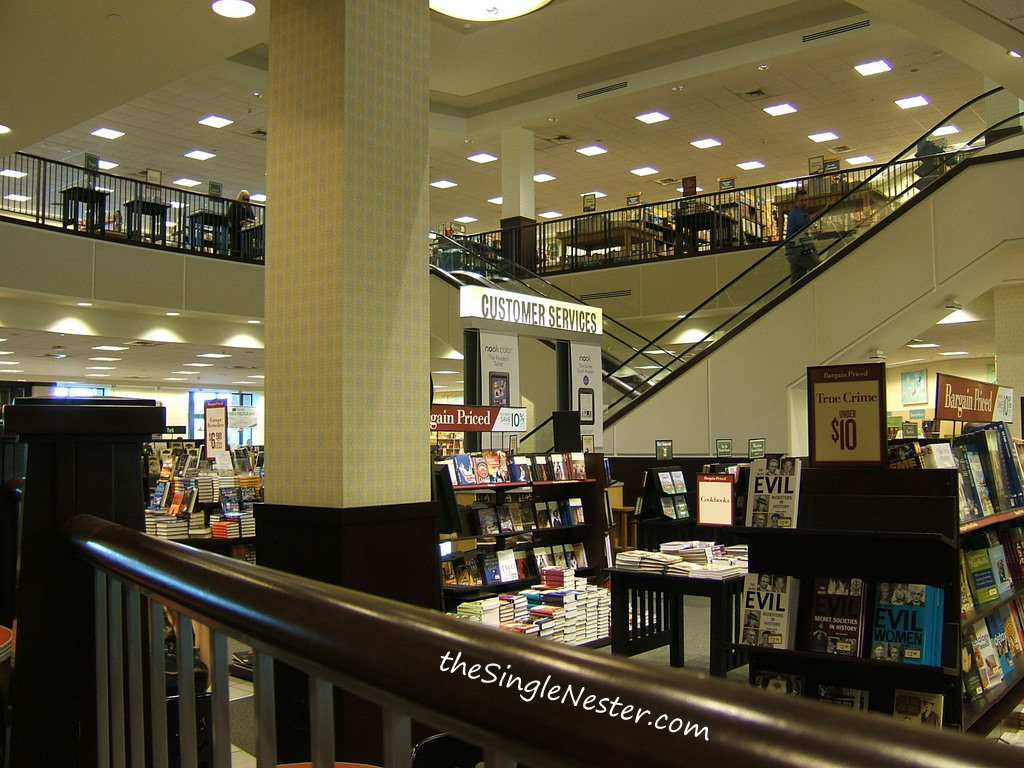 Barnes & Noble and The Anatomy of the Sea