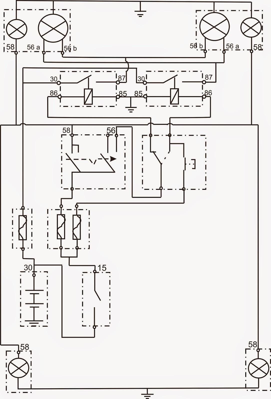 Diagram Wiring Diagram Lampu Kepala Mobil Full Version