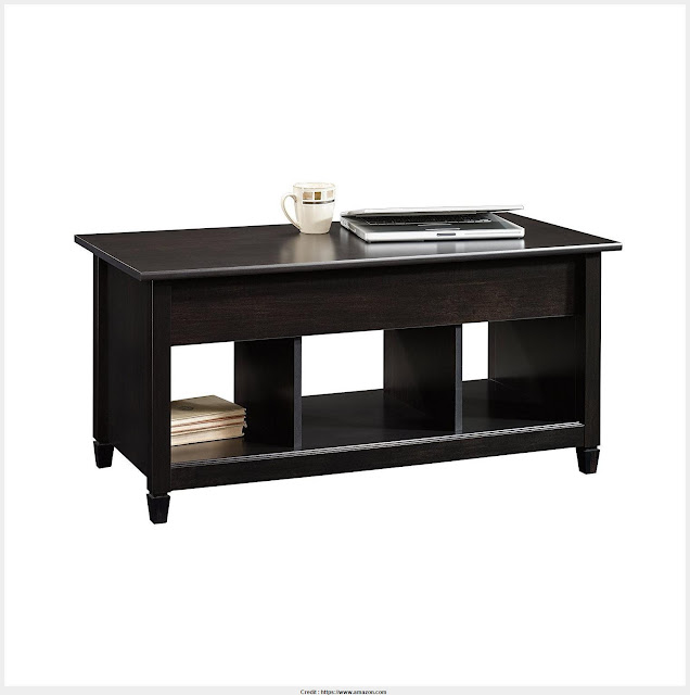 Incredible Black Side Table With Storage