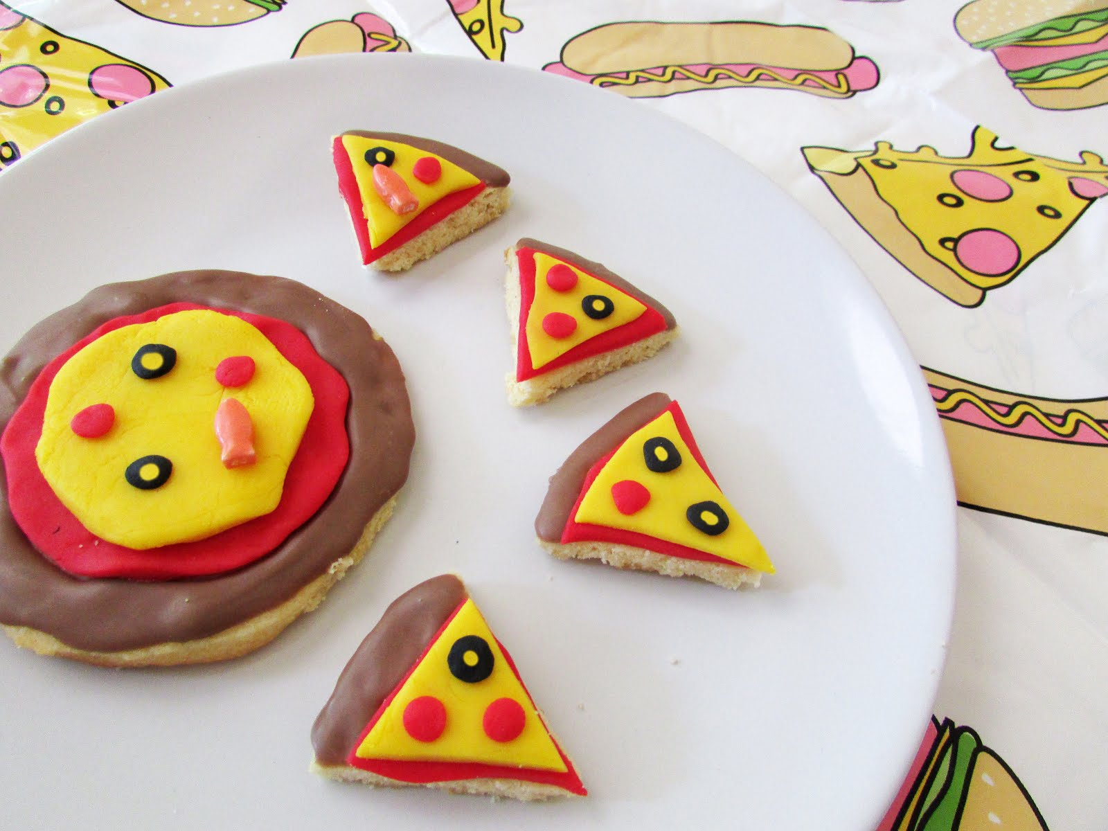 Pizza Sugar Cookies for National Pizza Day