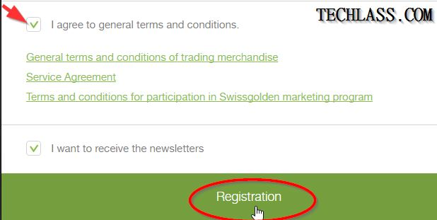 SwissGolden Review, Registration and Login