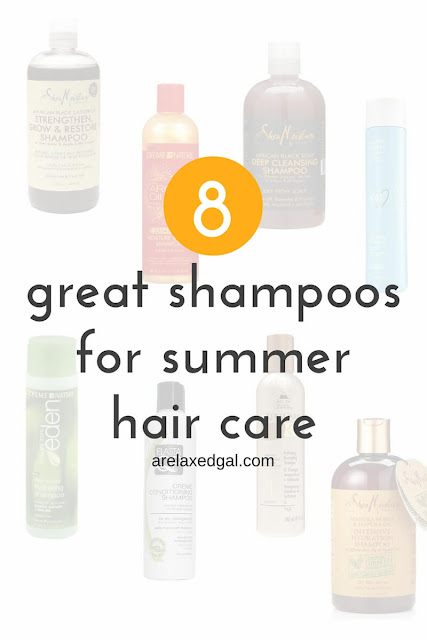 Summer hair care: 8 great shampoos perfect for summer hair care | arelaxedgal.com