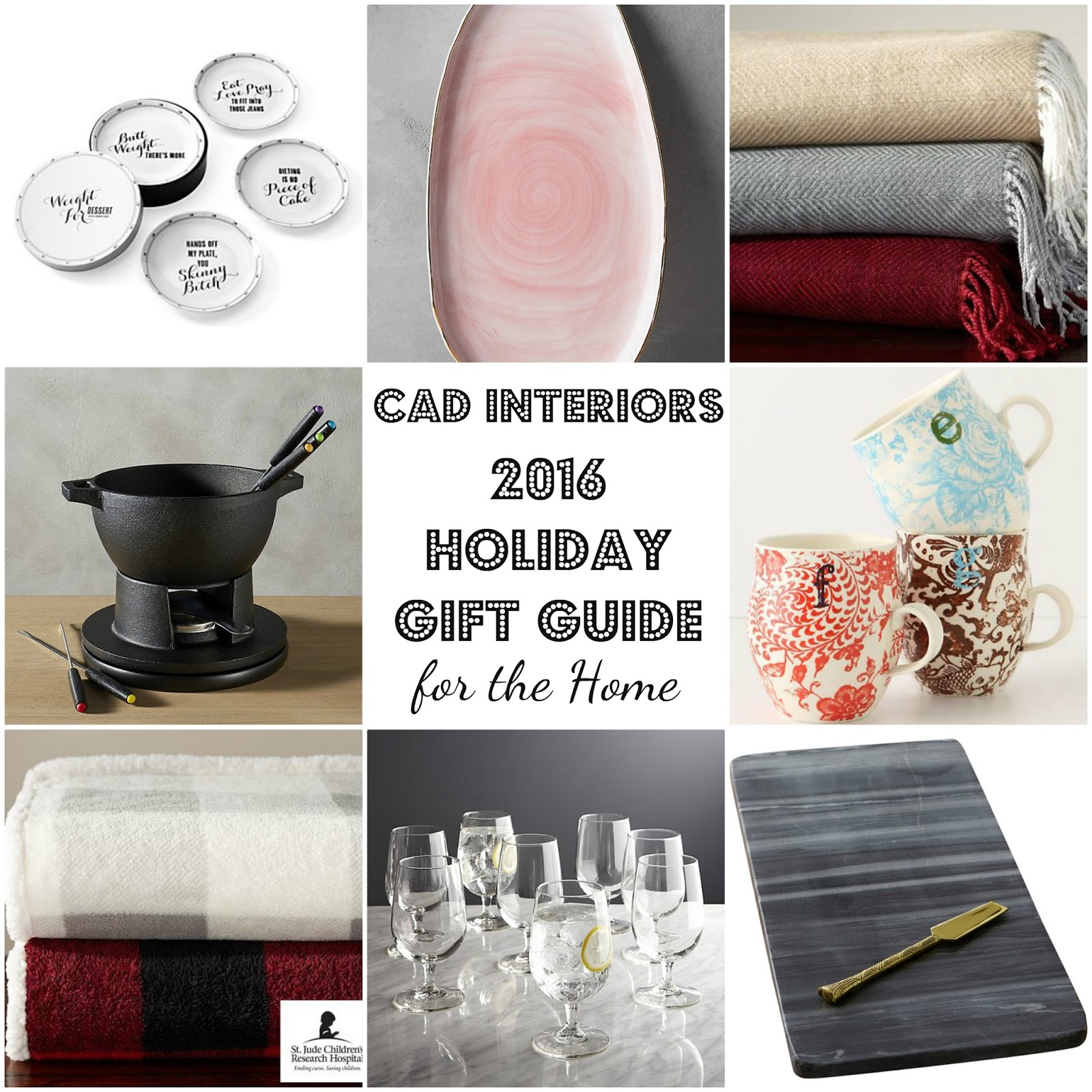 budget home decor holiday gift guide christmas entertaining essentials