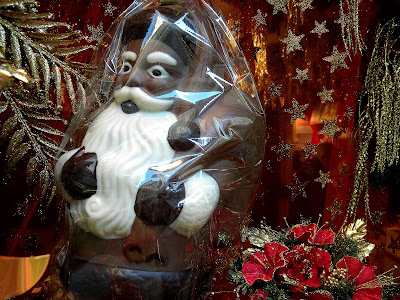 Chocolate Candy Santa Claus Photo Image