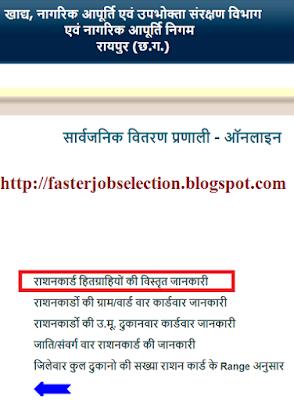 Chhattisgarh Ration Card List 2019 में ऑनलाइन नाम कैसे देखें ? CG Rashan Card List 2019, CG APL BPL लिस्ट में अपना नाम कैसे देखे।