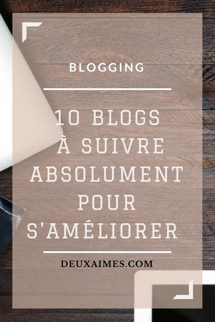 Blogging astuces, 10 blogs à suivre absolument pour améliorer son blog Deuxaimes
