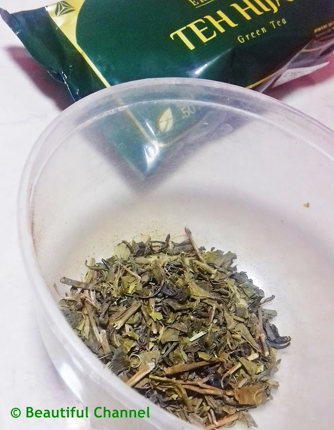 DIY: Green Tea Mask (+ Scrub)