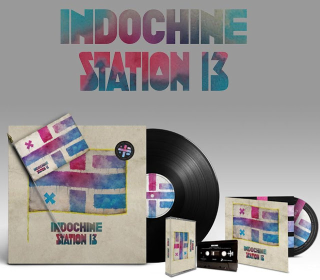 Indochine: Maxi sencillo y clip - Station 13